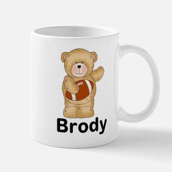 Brody's Football Bear Mug