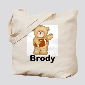 Brody's Football Bear Tote Bag