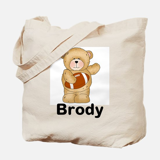 Brody's Football Bear Tote Bag