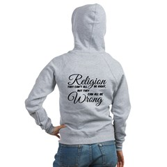 Religion All Wrong Zipped Hoody Women's Zip Ho