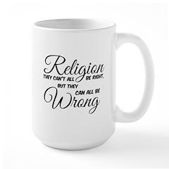 Religion all Wrong Mugs
