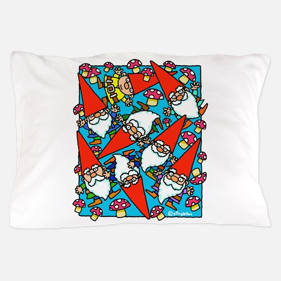 GNOMES AND TOADSTOOLS Pillow Case