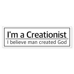 I'm a Creationist Bumper Stickers