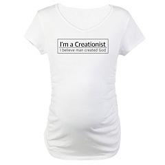 I'm a Creationist Maternity T-Shirt