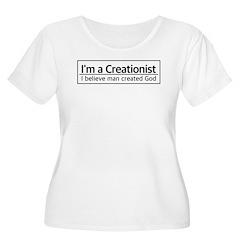 I'm a Creationist Plus Size T-Shirt