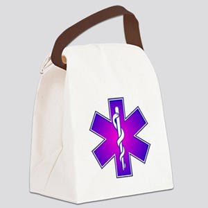 Star of Life Canvas Lunch Bag
