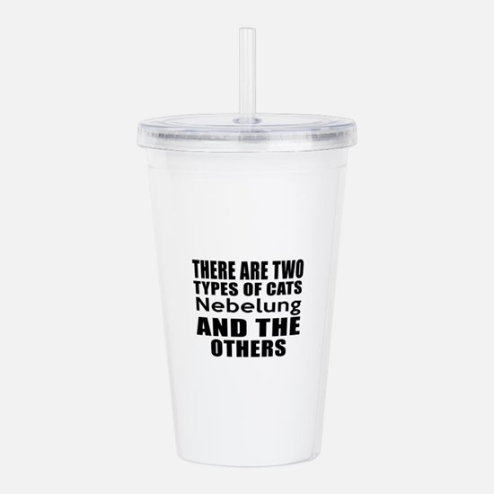 There Are Two Types Of Acrylic Double-wall Tumbler