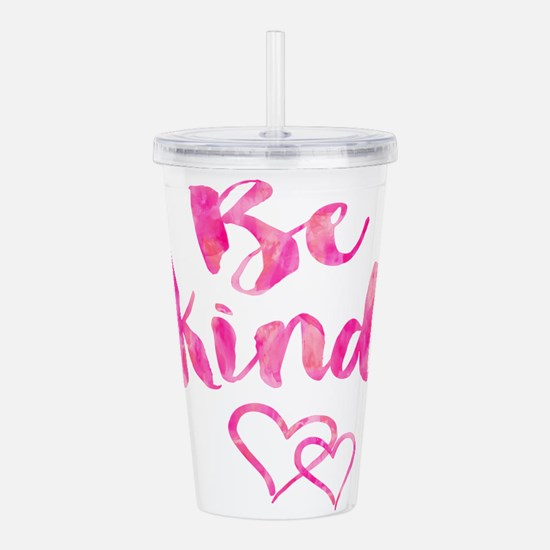 Be Kind Watercolor Ins Acrylic Double-wall Tumbler