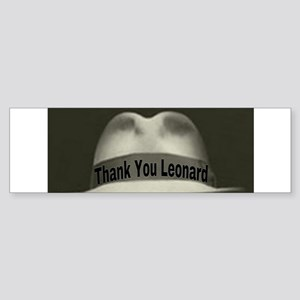 Thank You Leonard Bumper Sticker