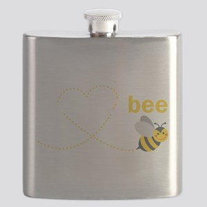 Mom To Bee Flask