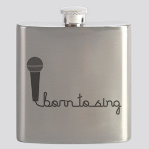 Born to Sing Flask