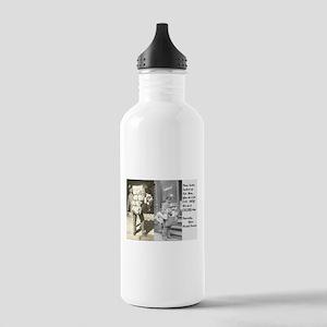 Santa Delivering Posta Stainless Water Bottle 1.0L