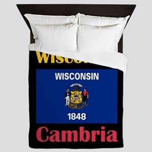 Cambria Wisconsin Queen Duvet