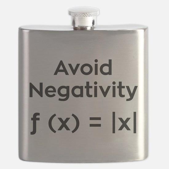 Avoid Negativity Flask