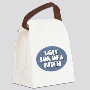 Ugly Son of a Bitch Canvas Lunch Bag