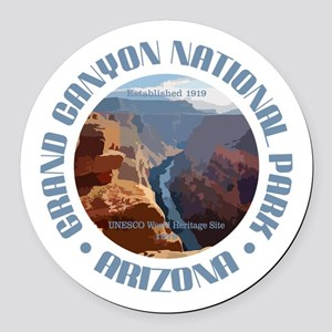 Grand Canyon NP Round Car Magnet