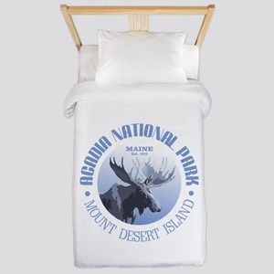 Acadia National Park (moose) Twin Duvet