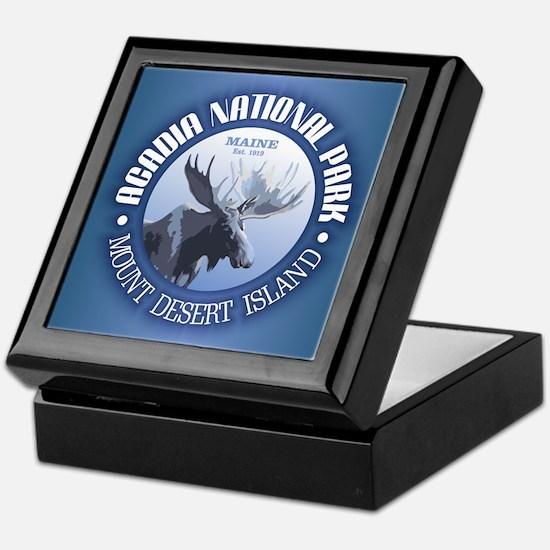 Acadia National Park (moose) Keepsake Box