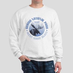 Acadia National Park (moose) Sweatshirt