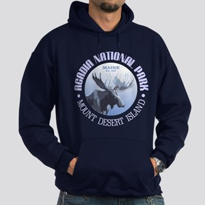 Acadia National Park (moose) Hoodie