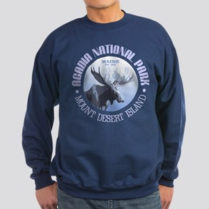 Acadia National Park (moose) Sweatshirt