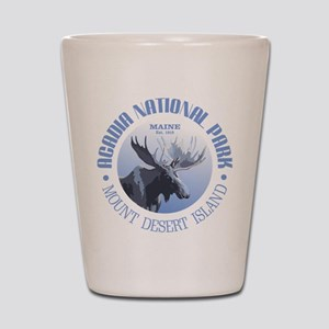 Acadia National Park (moose) Shot Glass