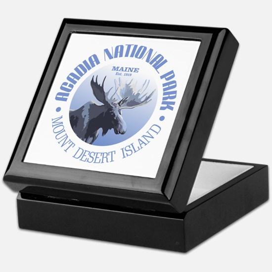 Acadia National Park (moose) Keepsake Box