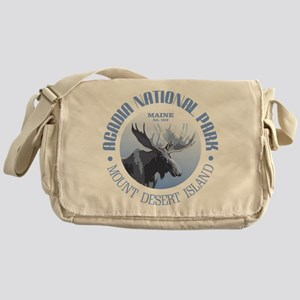 Acadia National Park (moose) Messenger Bag