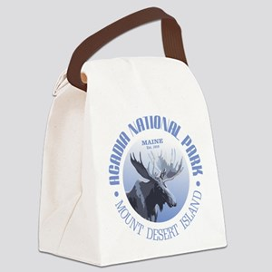Acadia National Park (moose) Canvas Lunch Bag