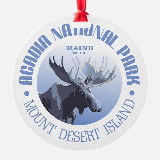 Acadia National Park (moose) Ornament