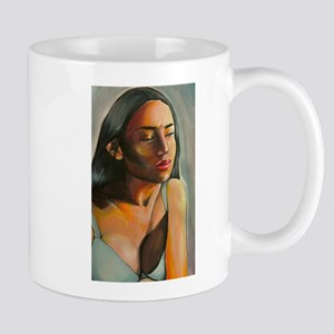 A Woman Unsure Mugs
