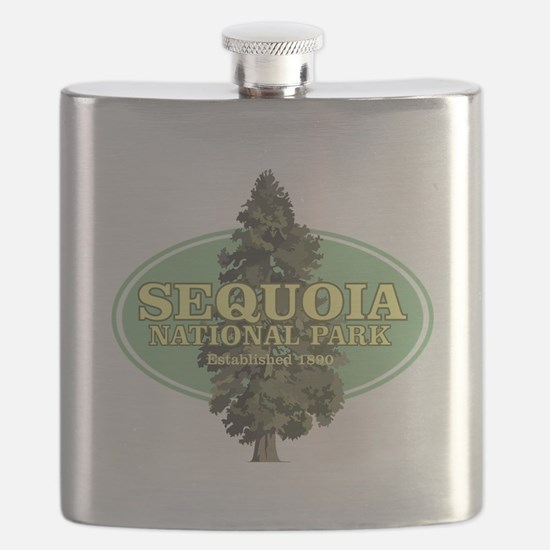 Sequoia National Park Flask