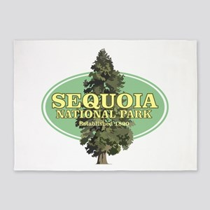 Sequoia National Park 5'x7'Area Rug