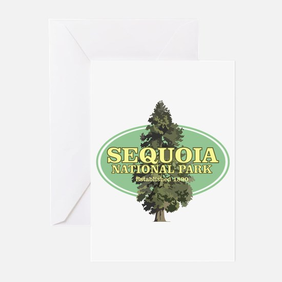 Sequoia National Park Greeting Cards