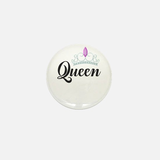 king and queen couple Mini Button