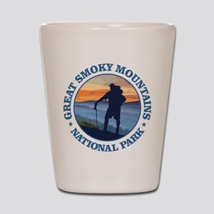 Great Smoky Mountains Shot Glass