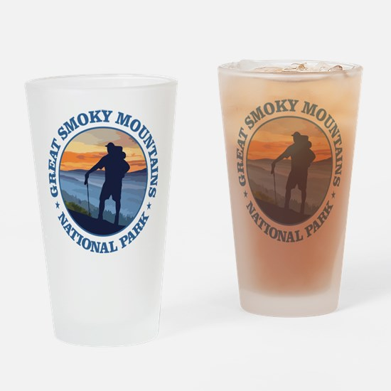 Great Smoky Mountains Drinking Glass