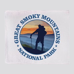 Great Smoky Mountains Throw Blanket