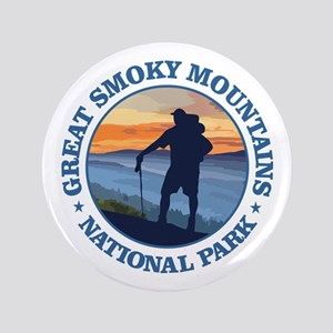 "Great Smoky Mountains 3.5"" Button"