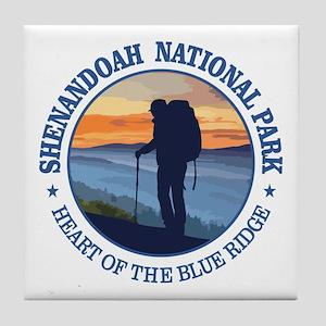 Shenandoah National Park Tile Coaster