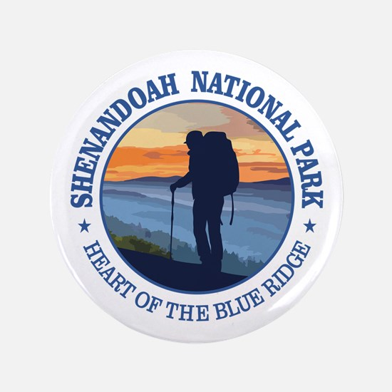 "Shenandoah National Park 3.5"" Button"