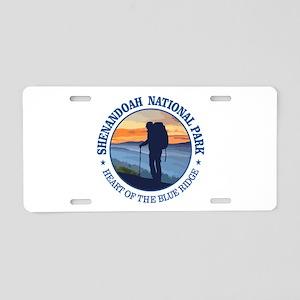 Shenandoah National Park Aluminum License Plate