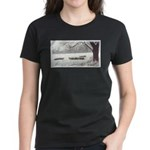 Winter Sheep Women's Dark T-Shirt