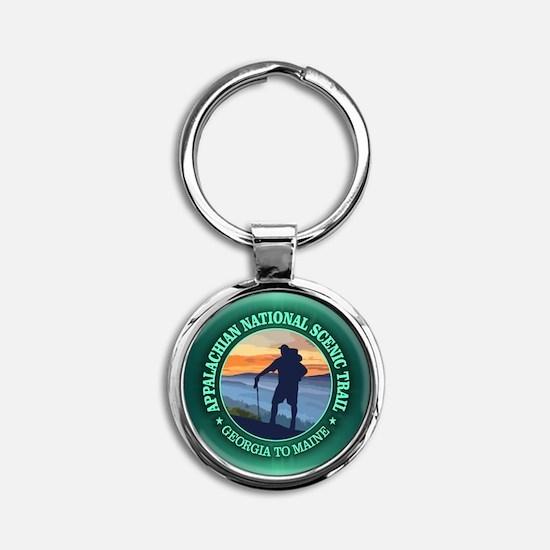 Appalachian Trail (rd)3 Keychains