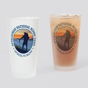 Appalachian Trail (rd)3 Drinking Glass