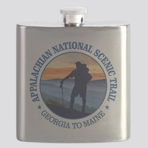 Appalachian Trail (rd)3 Flask