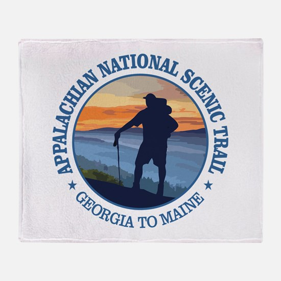 Appalachian Trail (rd)3 Throw Blanket