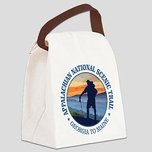 Appalachian Trail (rd)3 Canvas Lunch Bag
