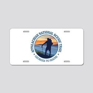 Appalachian Trail (rd)3 Aluminum License Plate