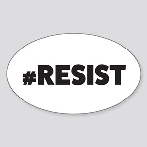 Resist_blk Sticker